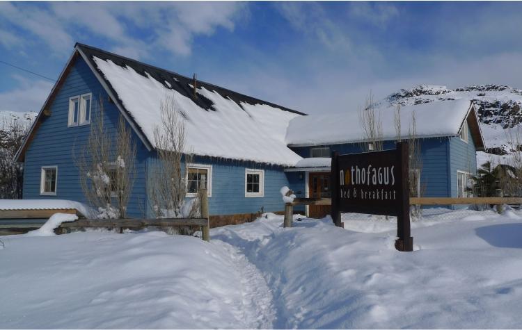 hosteria frente nieve