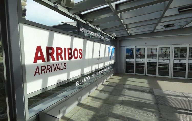 aeropuerto El Calafate arribos
