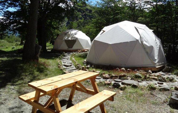 domos camping bonanza chalten