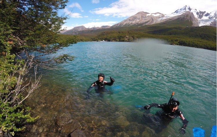 snorkel en El Chaltén